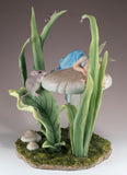 Fairy Sleeping On Mushroom Figurine 2