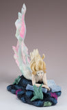 Mermaid Reading Figurine Lost Books by Tiffany Toland-Scott 3