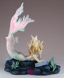 Mermaid Reading Figurine Lost Books by Tiffany Toland-Scott 4