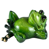 Frog Laid Back Figurine Pose B 1