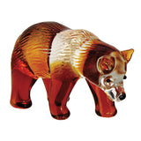 Brown Bear Miniature Borosilicate Glass Figurine