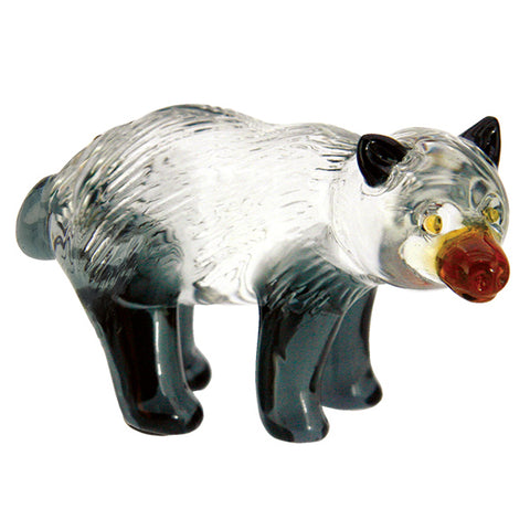 Lampwork Hand Blown Glass Bear