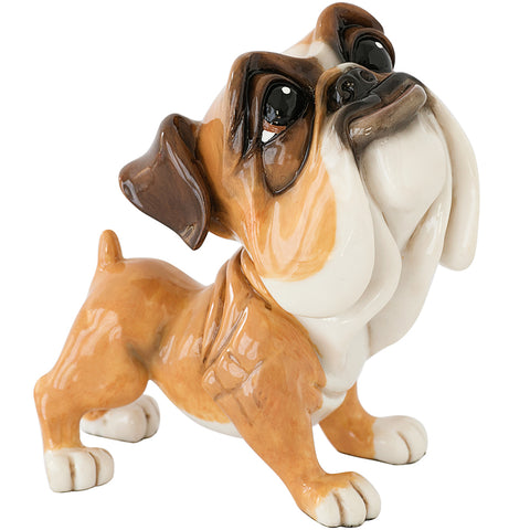 "Little Paws ""Mick"" Bulldog Dog Figurine 1"