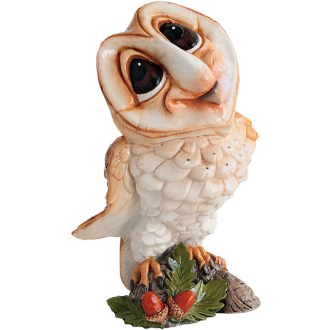 "Little Paws ""Owlbert"" Barn Owl Figurine 1"