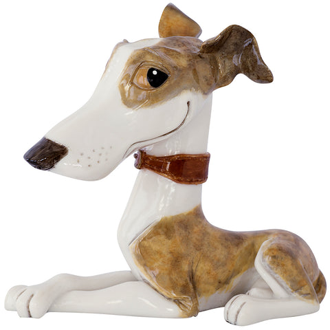 "Little Paws ""Twiggy"" Whippet Dog Figurine 1"