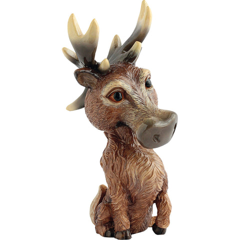 "Little Paws ""Steel"" Deer Buck Stag Reindeer Figurine"