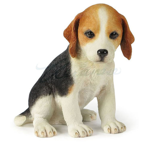 Beagle Puppy Hound Dog Figurine