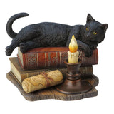 "Black Cat Figurine ""The Witching Hour"" By Lisa Parker"