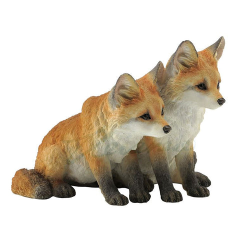 Red Fox Pups Kits Figurine 1