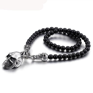 Vanity Black  Skull Necklace - supdealshop