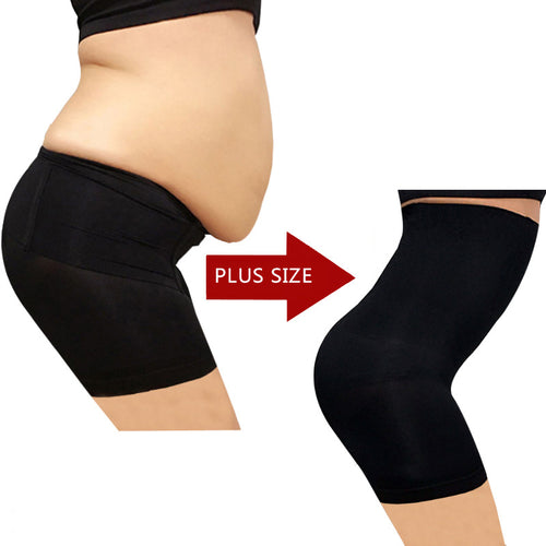 Mid Thigh High Waist Short Slimmer - supdealshop