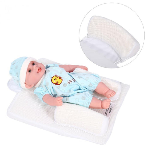 Newborn Baby Sleep Fixed Position And Anti Roll Pillow - supdealshop