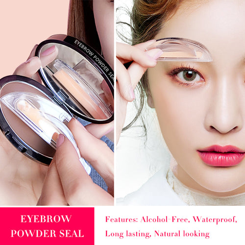 Amazing Waterproof Eyebrow Stamp - supdealshop