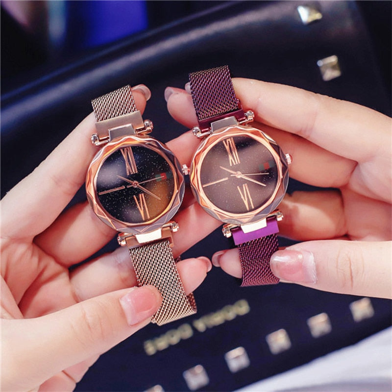 Fancy Starry Sky Waterproof Watch - supdealshop