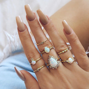 Roslina Ring Set(7cs) - supdealshop