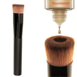 Liquid Foundation Oval Makeup Brush - supdealshop