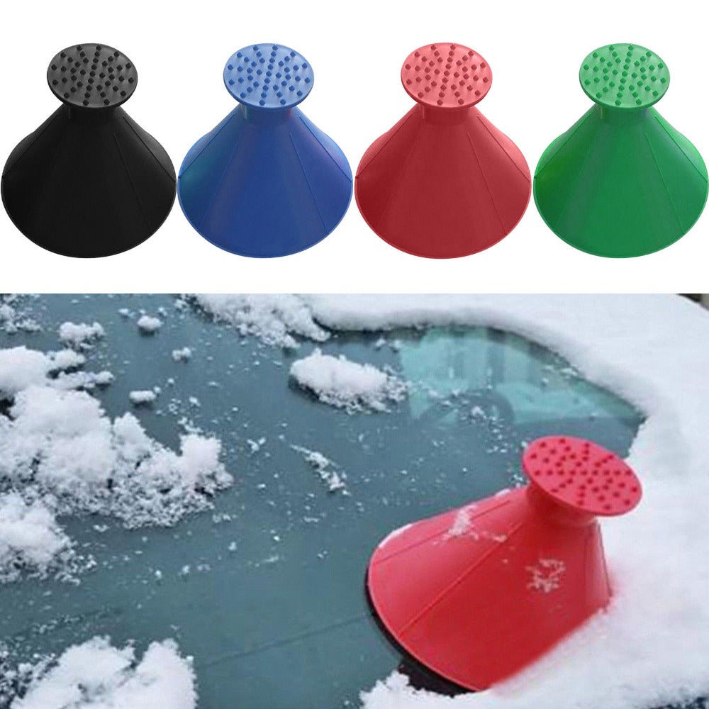 Round Cone Car Windshield Ice Snow Scraper - supdealshop