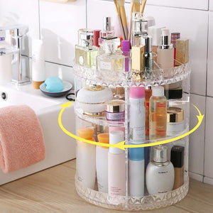 360° MULTIFUNCTIONAL COSMETIC STORAGE BOX - supdealshop