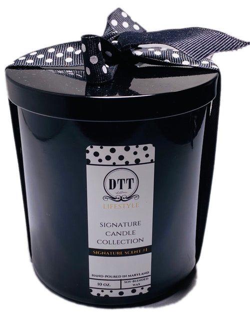 Signature Scent No. 4 Luxury Candle