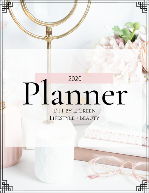 PRESALE: DTT Lifestyle + Beauty 2020 Planner