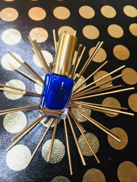 Sapphire Blue Gemstone Inspired Vegan Nail Lacquer