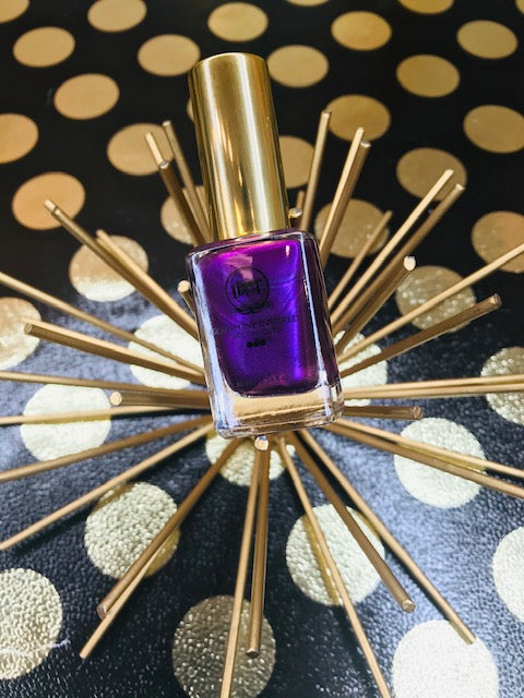 Royal Amethyst Gemstone Inspired Vegan Nail Lacquer