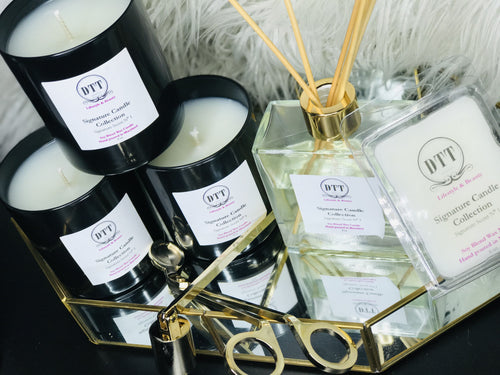 Signature Scent Bundle(Signature Candle, Melts & Reed Diffuser)