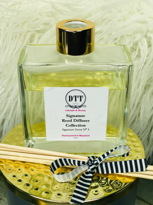 "Spring/Summer Collection: ""Oceanfront"" Signature Scent  Reed Diffuser"