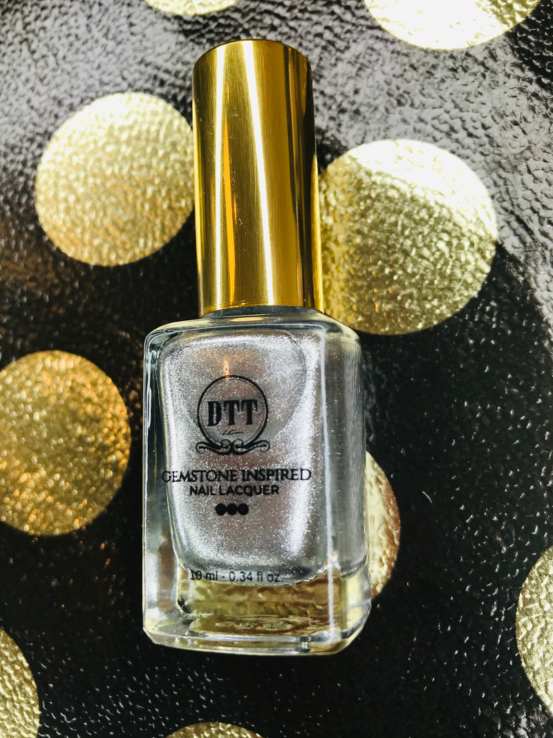 Sterling Silver Gemstone Inspired Vegan Nail Lacquer