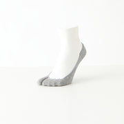 Cotton Shallow Tabi No-Show Socks