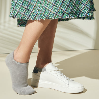 Anti-Odor Cotton Sneaker Socks