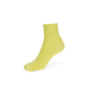 40-denier Nylon Short Crew Socks