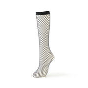 Large-Mesh Fishnet Knee High Socks