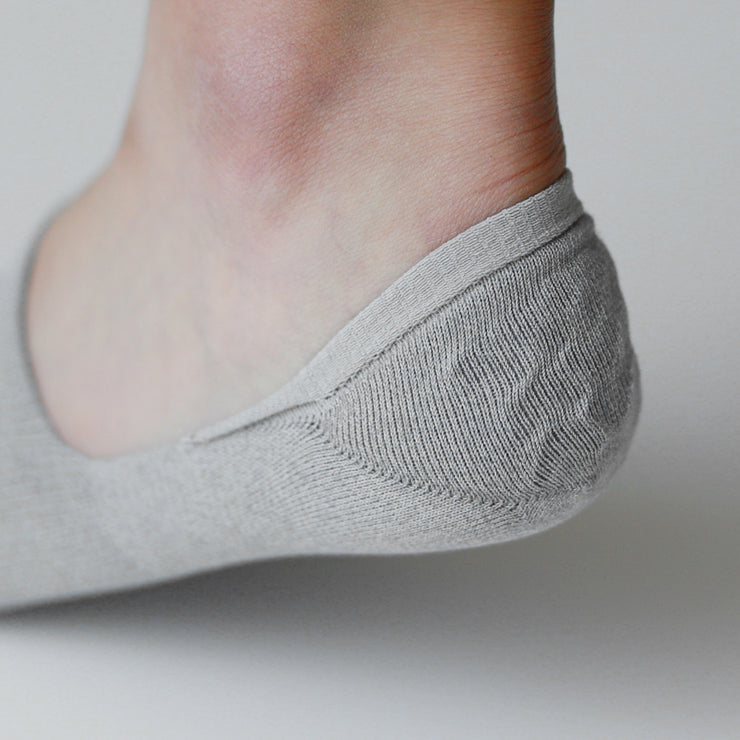 Anti-Odor Deep Instep No-Show Socks