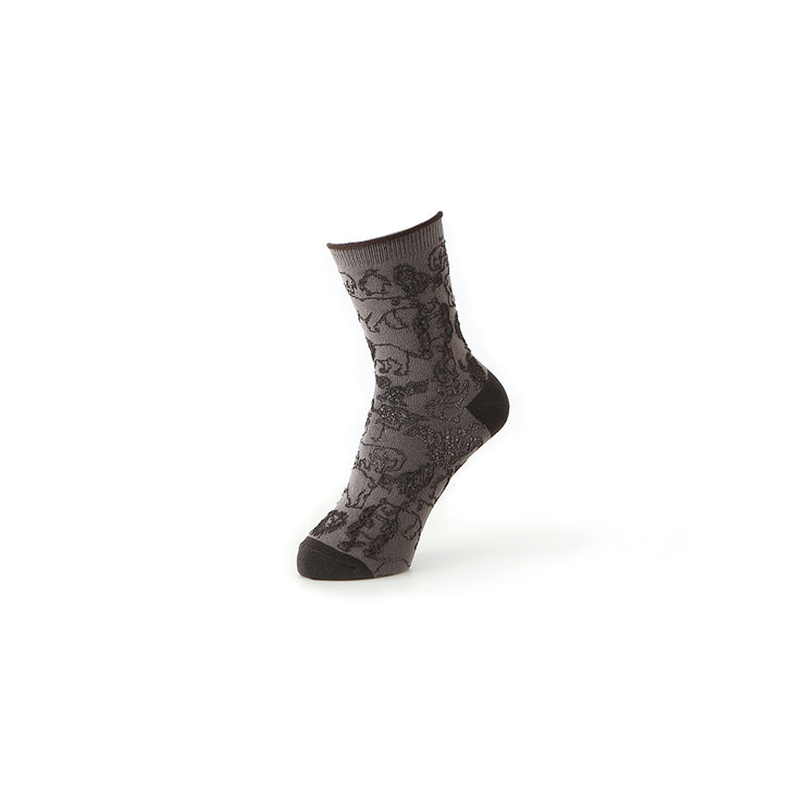 ECO-Friendly Float Animal Short Crew Socks