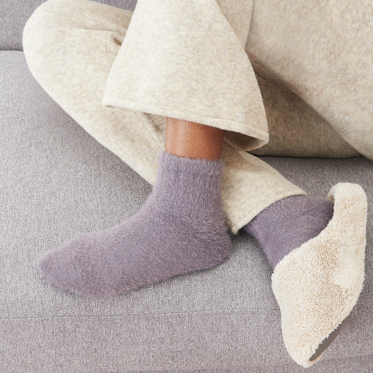 Soft Fluffy Short Crew Socks