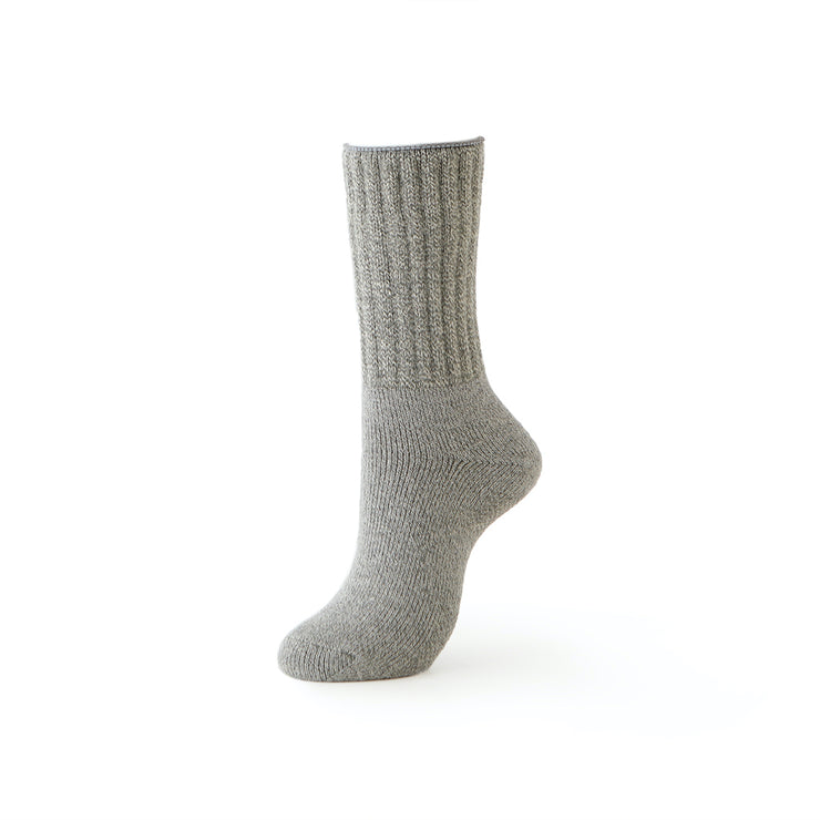 3-Layer Silk Pile Crew Room Socks
