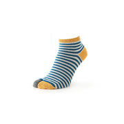 Men's Striped Cotton Tabi Sneaker Socks