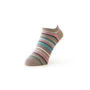 Racing Stripe Cotton Sneaker Socks