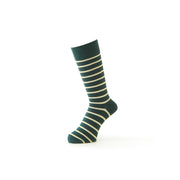Pencil Striped Crew Socks