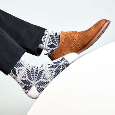 Snow Wool Crew Socks