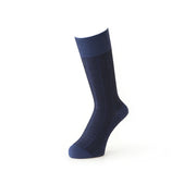 "Stripe ""Washi"" Japanese Paper Yarn Crew Socks"