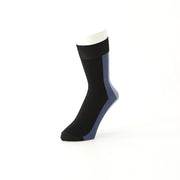 Back-Half Striped Cotton Crew Socks
