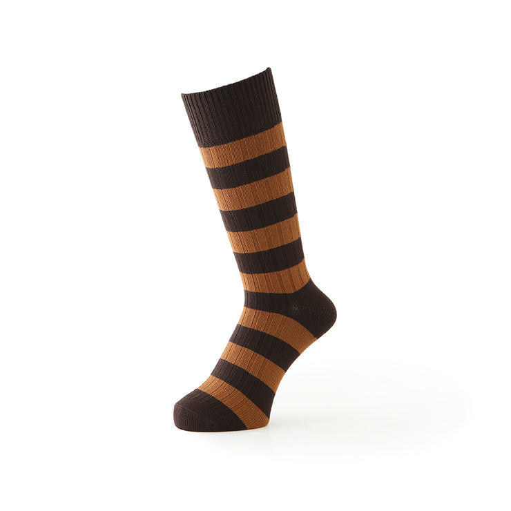Genius Stripe Anti-Odor Cotton Crew Socks
