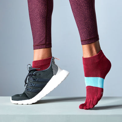 Women's TABIO SPORTS Signature Run Toe Socks