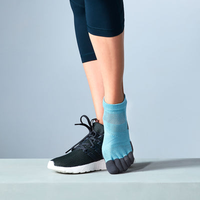Women's TABIO SPORTS Ultra-Light Compression Toe Socks