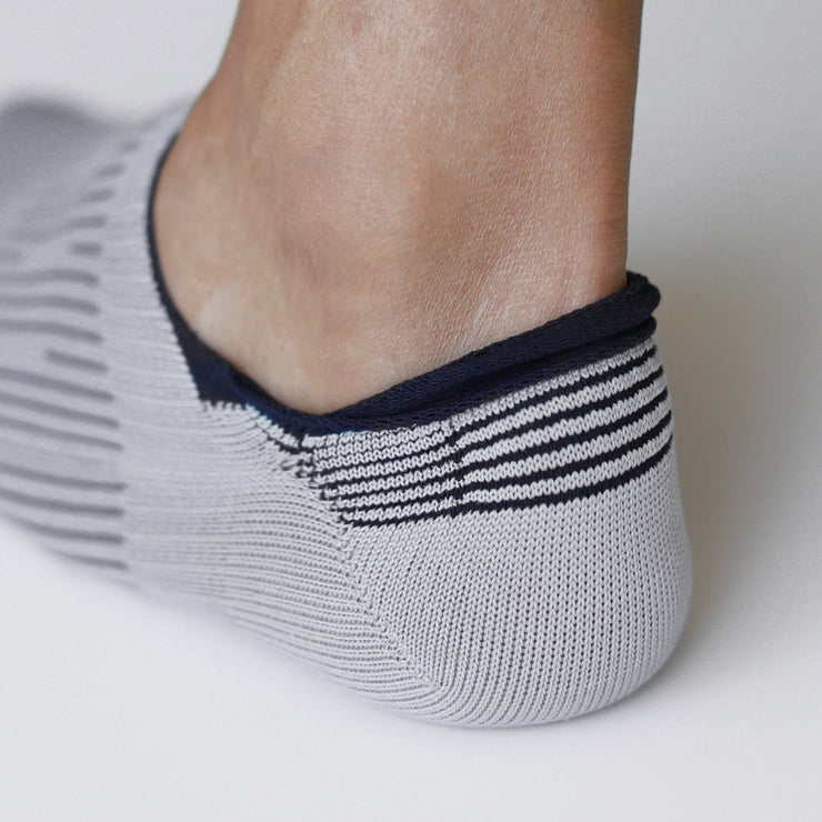 3-D Knitted Compression Anti-Odor Sneaker Socks