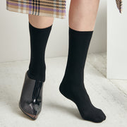 Soft Plain Crew Socks