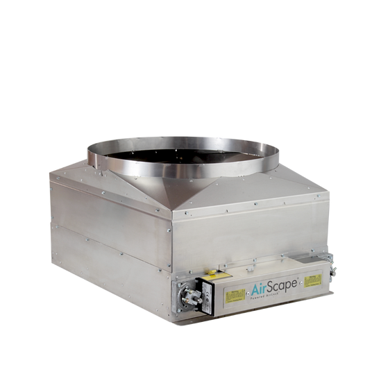 AirScape Powered Airlock™ Damper Box - Sierra 3200