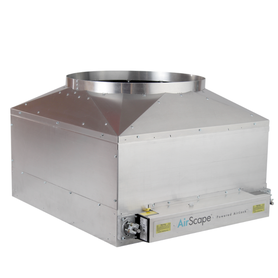 AirScape Powered Airlock™ Damper Box - Sierra 3400/4300/5300